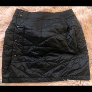 L.L. Bean Primaloft quilted winter skirt